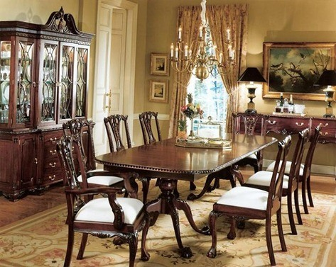 Mahogany_Chippendale_Dining_Collection