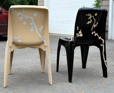 Painting Plastic Chairsfurniturehouse Design Decoration Heavy Duty