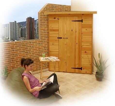 Armarios de exterior que decoran - Armario de madera para exterior ...