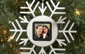 Marco Digital Navidad Decoracion