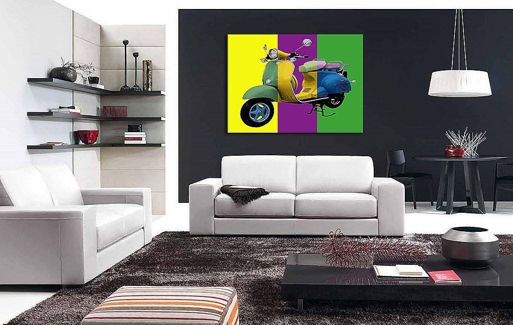 La decoración con Cuadros en el hogar - decorando-interiores.com ...