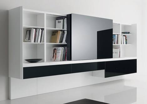 Informe iluminaci n de ambientes iii - Muebles bibliotecas modernas ...