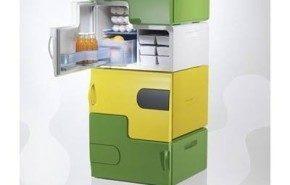 Electrolux presenta varias heladeras en una sola