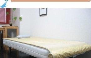 La cama con ventilación para el calor