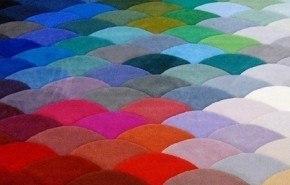 Alfombra de colores 2010