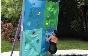 Aquatic Climbing Wall, para escalar en la piscina
