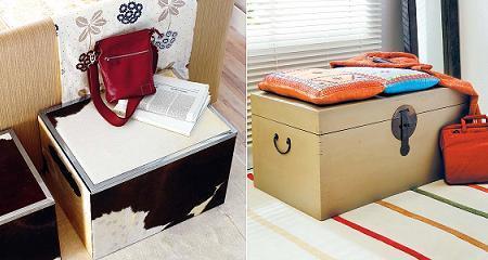 Ba les para decorar y ganar espacio - Baules para decorar ...