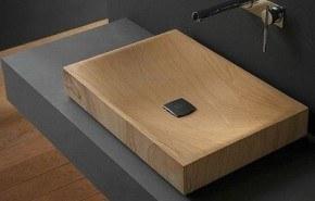 Ébano, un sofisticado lavabo de madera