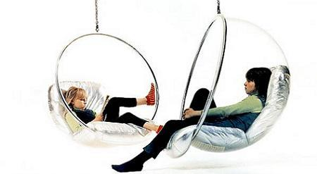 bubble chair de adelta decoraci n en espacio hogar. Black Bedroom Furniture Sets. Home Design Ideas