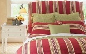 Cómo hacer coloridas cabeceras para la cama