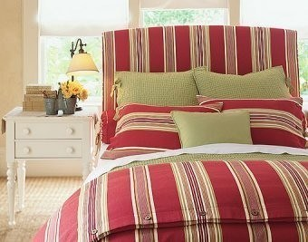 C mo hacer coloridas cabeceras para la cama - Telas para forrar cabecero cama ...
