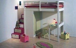 Camas en alto: una idea fantástica para ganar espacio en el hogar