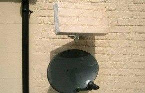 Sqish, un receptor satelital que se camufla en la pared