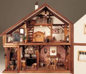 Hacer casas mu ecas - Decoracion de casas de munecas ...