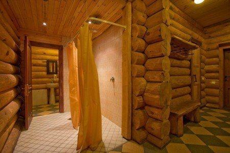 Decoraci n tipo siberia - Interiores casas de madera ...