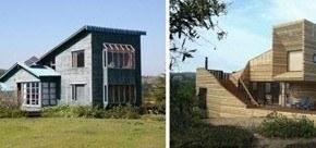 Casa de madera en Tunquén, Chile
