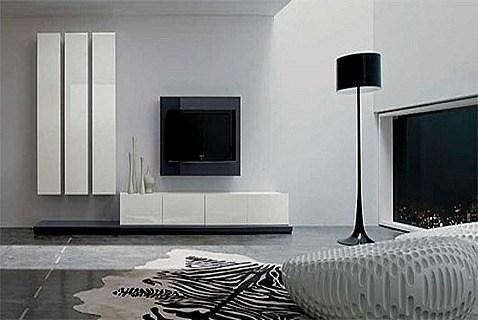 Salones minimalistas - Muebles de salon minimalistas ...