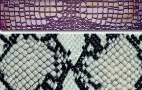 Cerámicos con textura de piel de cocodrilo