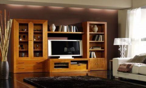 Muebles rustiko rebajas verano 2014 - Combinar muebles en color cerezo y blanco ...