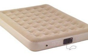 Colchón inflable con altavoces Coleman Quickbed