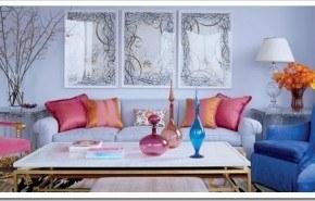 Agrega color a los ambientes mediante objetos de decoración
