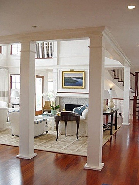 Columnas interiores for Interior support columns