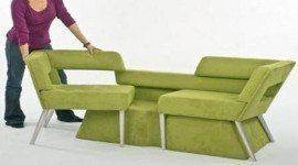 Sofá para ahorrar espacio   Compact Sofa System