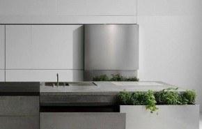 Cocina moderna de concreto