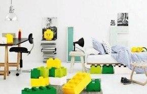 Decoración con piezas LEGO