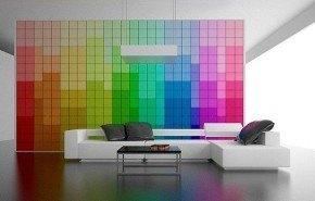 Decoración hogareña con pixeles