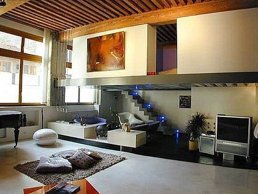 Decoracion loft - Deco maison appartement en duplex widawscy ...
