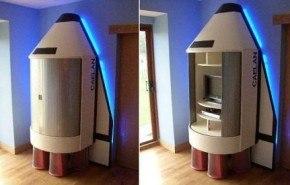 Nave espacial para tu habitación