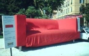 La publicidad de guerrilla de Ikea