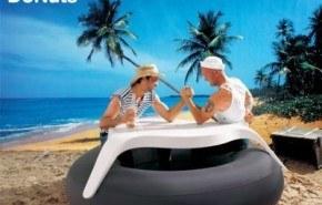 DoNuts, mesa y flotador para el verano