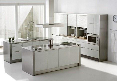 Cocinas Santos - Minos blanco perla