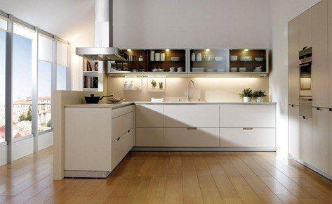 Cocinas Santos- modelo Plano Gris Perla