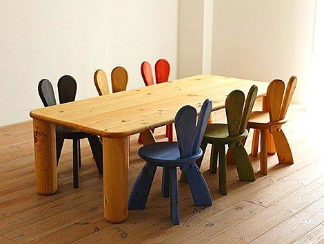 funny-ecological-kids-furniture-chairs-tables-rabbit-style1