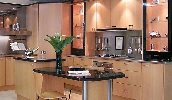 Muebles de cocina for Modelos de mesones de cocina