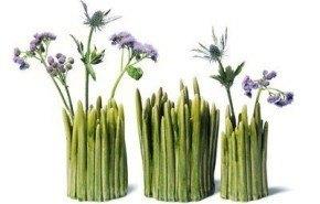 Floreros que traen la naturaleza al hogar