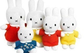 Adornos en lana de algodón tejida para el dormitorio infantil