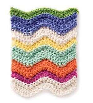 Free Crochet Chevron Stitch Pattern