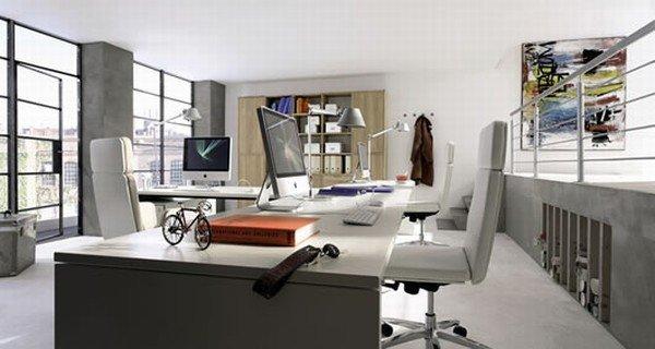 Oficina en casa for Oficinas modernas en casa
