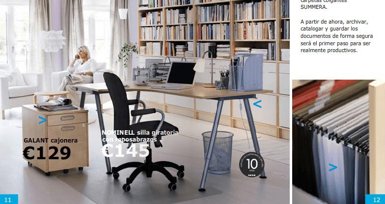 Entre estos modelos de Ikea Business encontramos ideas prácticas para