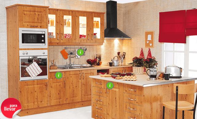 Muebles de cocina baratos for Cocinas de diseno precios
