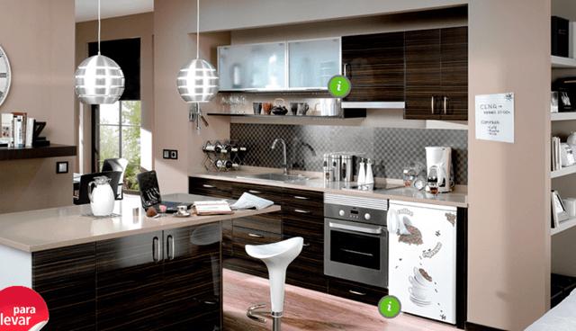 Cocinas baratas muebles de cocina baratos - Como disenar tu cocina ...