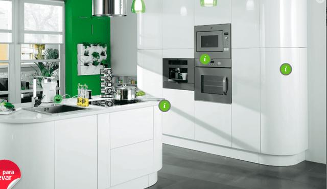 Cocinas baratas muebles de cocina baratos for Ikea diseno cocinas 3d