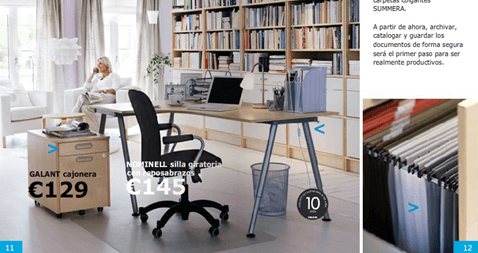 Ikea business 2018 muebles oficina - Ikea mesas despacho ...