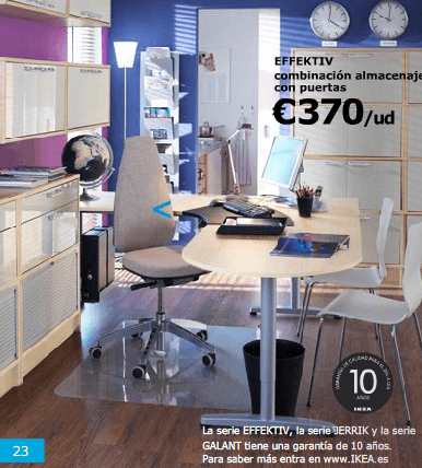 Ikea Business Modelos 2015 almacenaje effectiv