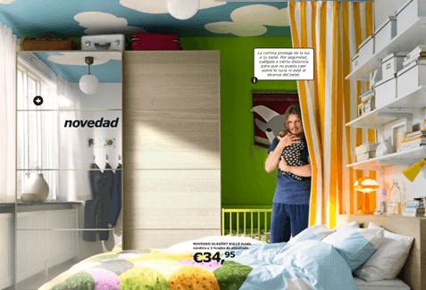 Cat logo ikea 2011 dormitorios for Ikea almacenamiento ninos