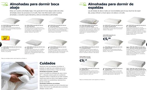 Catálogo Ikea 2011, colchones